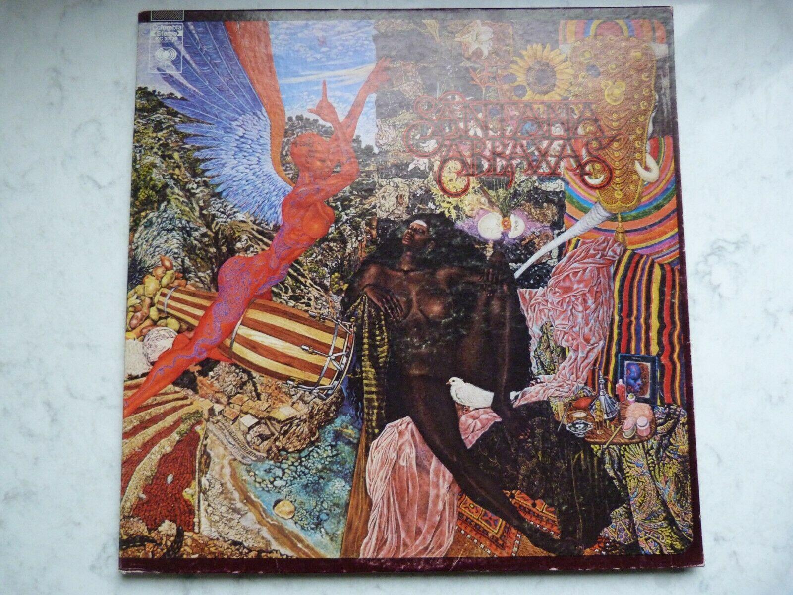 Santana Abraxas Columbia Stereo KC30130 Gatefold cover
