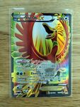 Ho-oh EX 121/122 Full Art - Breakpoint Pokemon Card Lightly Played