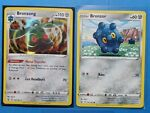 Bronzong 102/163 holo & 4x Bronzor 101/163 Pokemon card Battle Styles NM