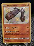 Pokémon TCG Stonjourner Shining Fates SV075/SV122 Holo Shiny Holo Rare