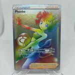 Phoebe Rainbow Secret Rare - Battle Styles SWSH05 175/163 Pokemon TCG