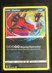 2021 Pokémon Sword & Shield Shining Fates Yveltal Amazing Rare No. 046/072