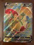 Flapple V 143/163 Pokémon TCG Battle Styles Full Art Ultra Rare Mint