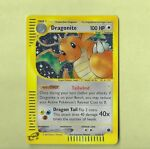 Pokémon Expedition - Dragonite Holo Card 9/165 -Unplayed EXC Cond.