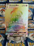 Pokémon TCG Shining Fates Alcremie Vmax Hyper Rainbow Rare 073/072 LP/M