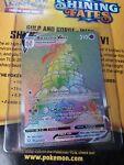 Alcremie Vmax Rainbow Rare 073/072 Shining Fates Near Mint Pokemon Card