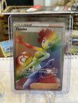 Pokemon Phoebe Rainbow Hyper Secret Rare 175/163 Battle Styles NM Full Art Card
