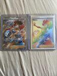 Phoebe Rainbow Secret Rare Plus Full Art 175/163 Battle Styles NM Full Art Card