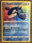 Kyogre 021/072 Pokemon TCG Amazing Rare Shining Fates MINT Clean Never Played