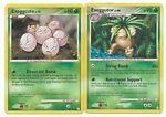 Pokemon Cards: Exeggutor 24/123 & Exeggcute 82/123 Mysterious Treasures Rare!