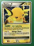 Pokemon Raichu LV.X 99/100 Ultra Rare Stormfront Holo -MINT-