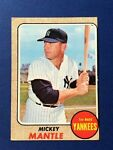 1968 Topps Vintage Baseball #280 ~ Mickey Mantle ~ Condition: Fill-In