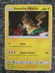 Detective Pikachu Holo 10/18 Pokemon Card