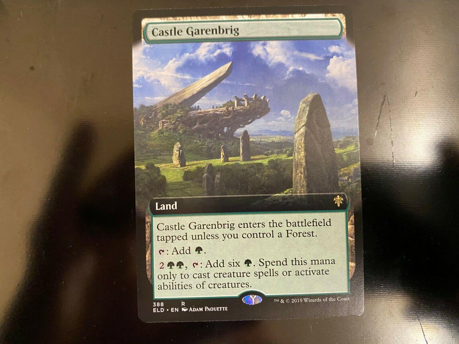 CASTLE GARENBRIG X4 Throne Of Eldraine ELD Magic MTG MINT CARD