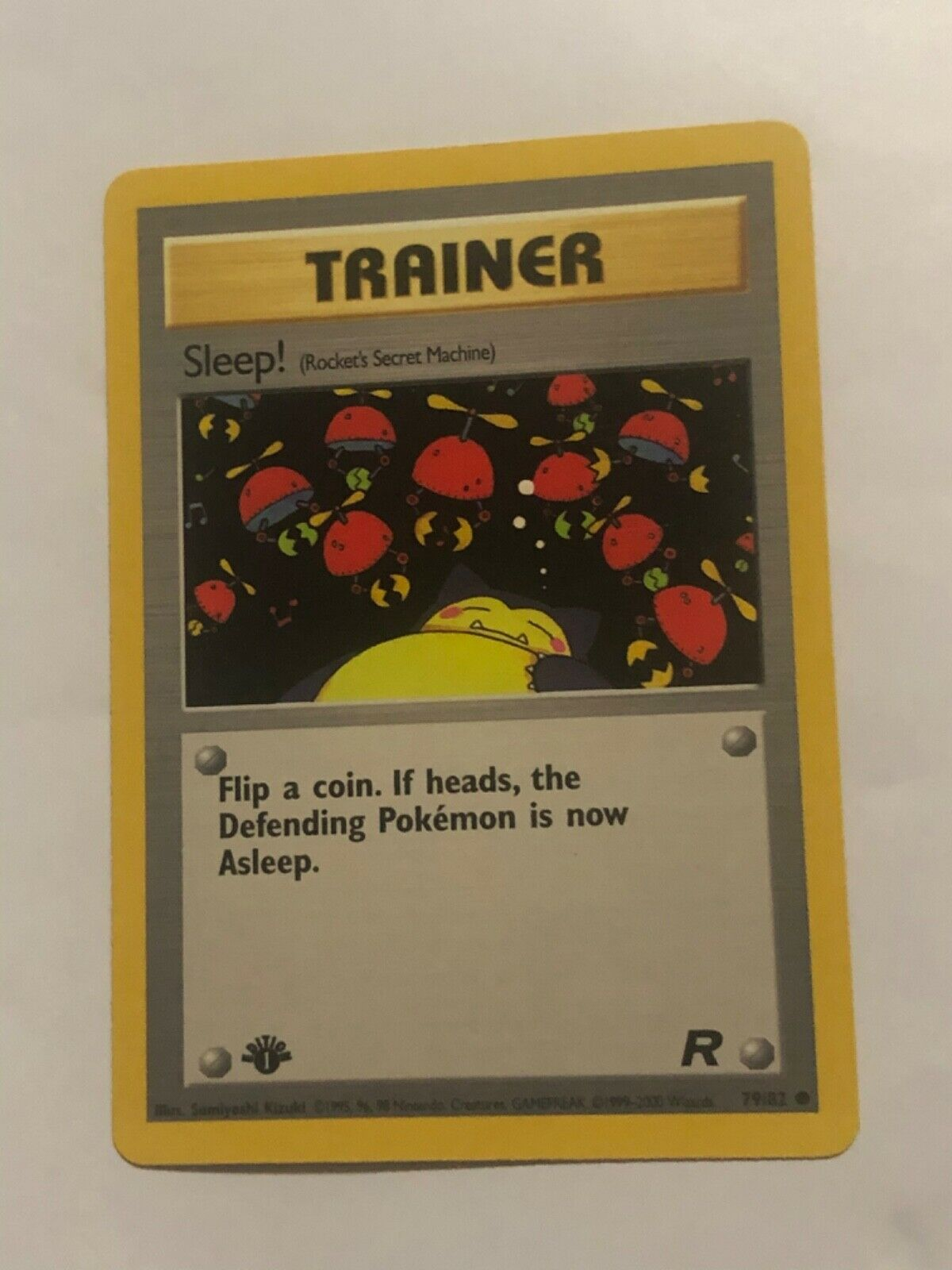 Digger Non-Holo 2000 WOTC Pokemon Card 75//82 Rocket Set Top Loaded PLY-NM