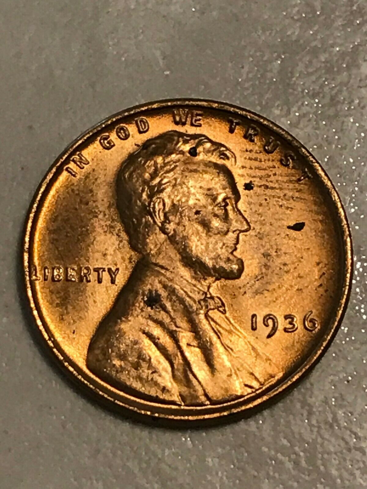 1936-D LINCOLN WHEAT CENT PENNY 50 COIN ROLL AV CIRC COLLECTOR COINS GIFT