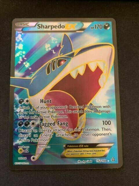 Pokemon TCG Sharpedo EX  91/160  X&Y Primal Clash  Ultra Rare  NM/Mint