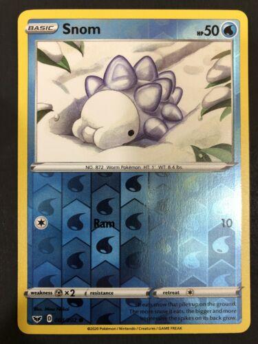 Snom #063//202 Sword /& Shield Base Set Common Pokemon 2020 TCG Card